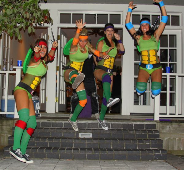 Teenage Mutant Ninja Turtles Group Costume - Big DIY IDeas