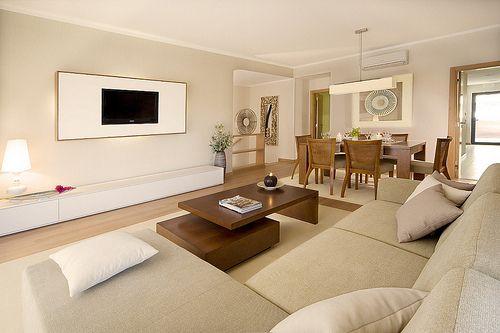 modern, earthy living room