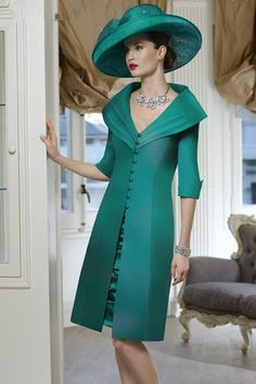 This green mother of the groom 2 pc design is elegant.  Our American based design firm can recreate this style of mothers dress for you in any color and with any changes. Get pricing and more details on custom #motherofthegroomdresses and replica dress designs when you visit our main website.