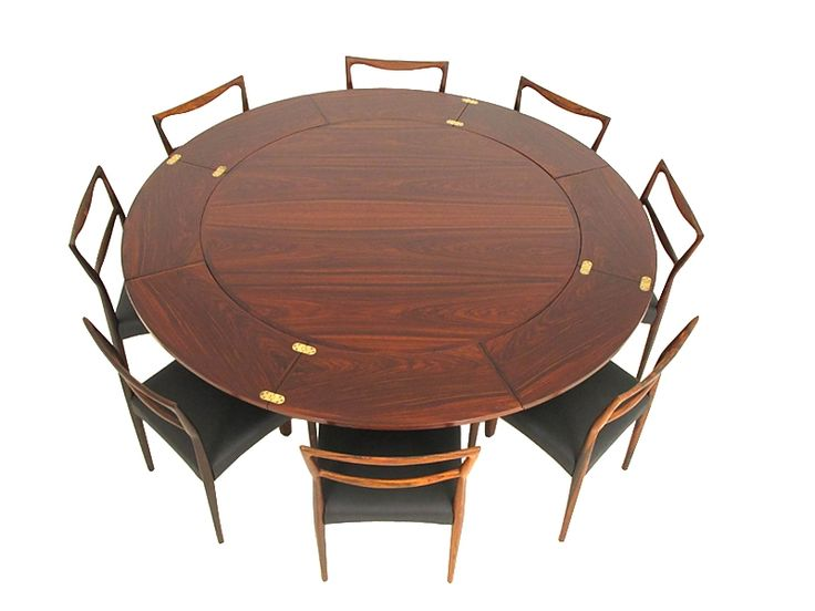 17 best images about round expandable tables for karen for 10 seat round table