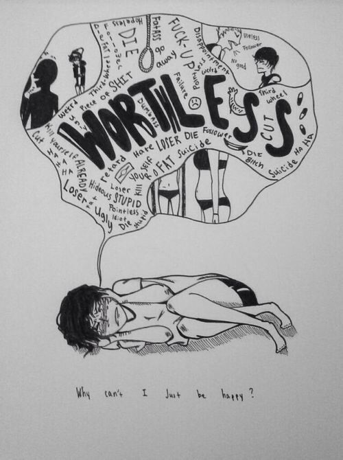 image result for suicide drawings