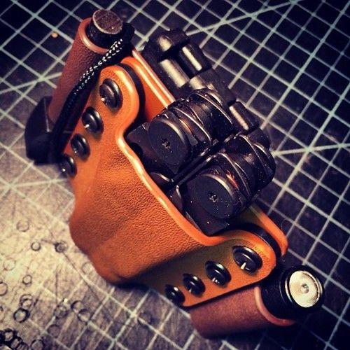Modular kydex tool holster