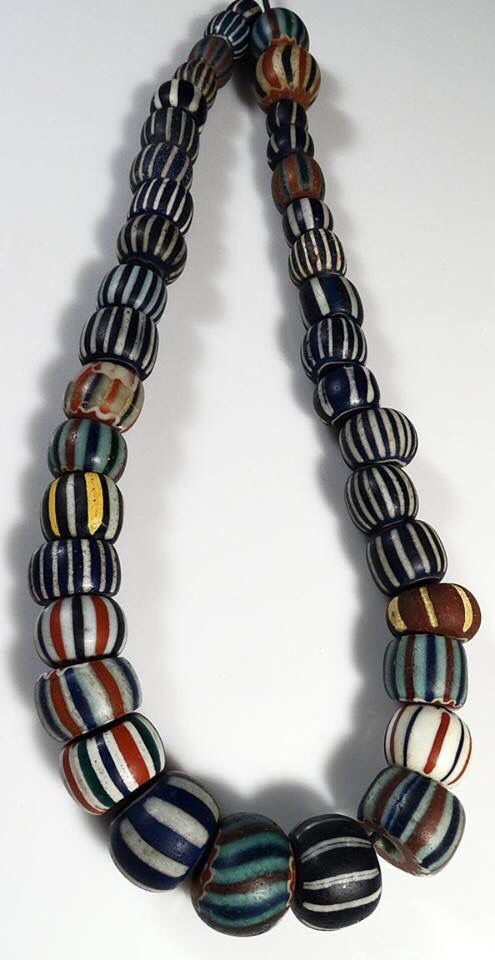 A speo antiques African trade beads.