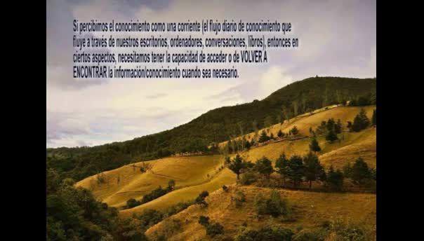 #escenariostec @escenariostec El conocimiento como un río , como una corriente, no como un depósito Juan Argoty @argoty_juan