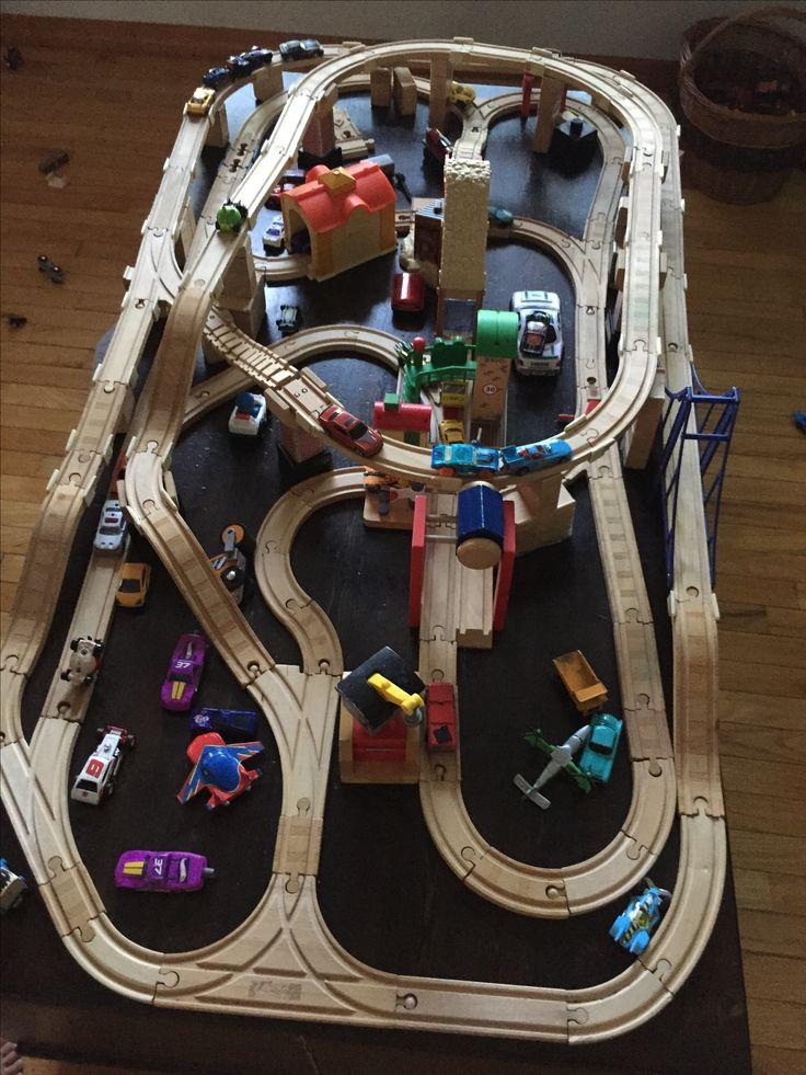 15 Best Train Track Layouts Images On Pinterest Bridges