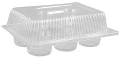 Clear Plastic Cupcake Containers