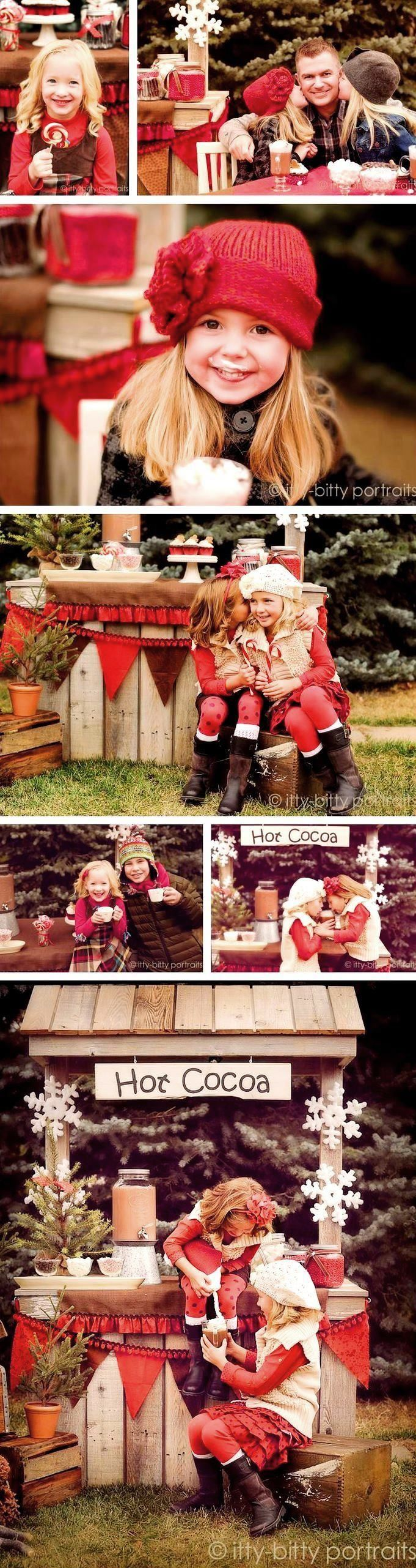 #Christmas #photography hot cocoa stand #winter ToniK Joyeux Noël
