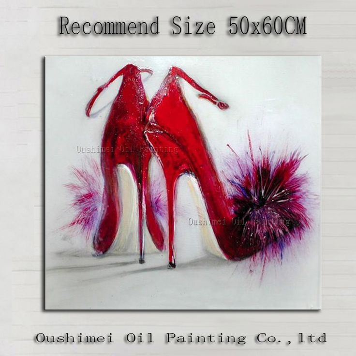 Image result for abstract shoes painting