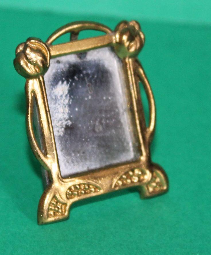 Vintage Dolls House Antique Ormolu Erhard & Sohne Table Mirror #3333/2 REFKM023 | eBay