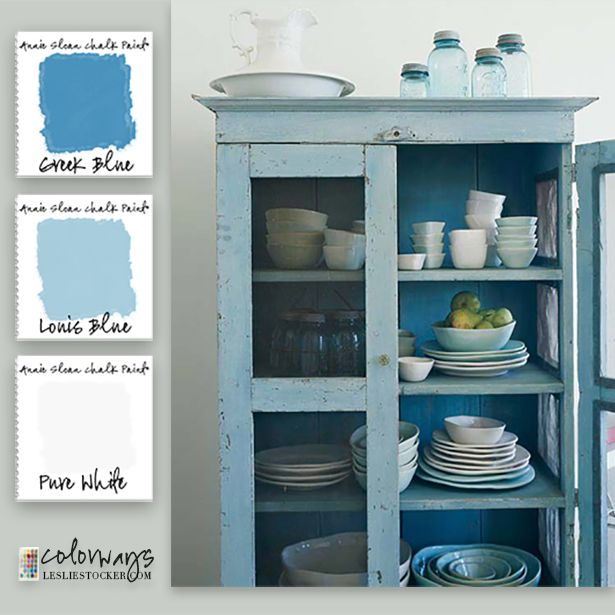 Chalk Paint Kitchen Cabinets Green: 25+ Best Ideas About Greek Blue On Pinterest