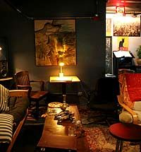 Fat Cat - jazz and ping pong in west village.