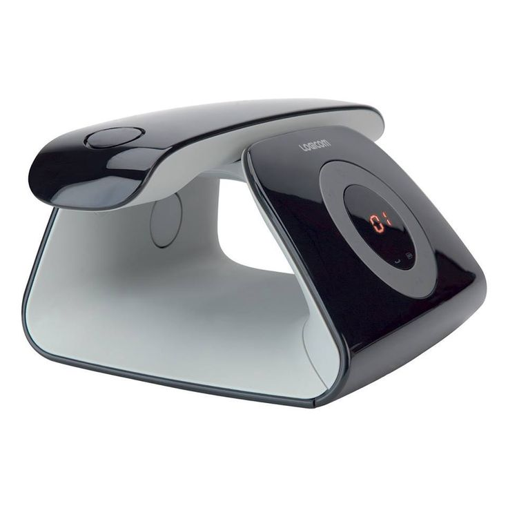 Telephone Design  LOGICOM復古的外形讓人聯想到的舊手機,但其現代化的曲線和便利的特點,又增加了它的時尚感~