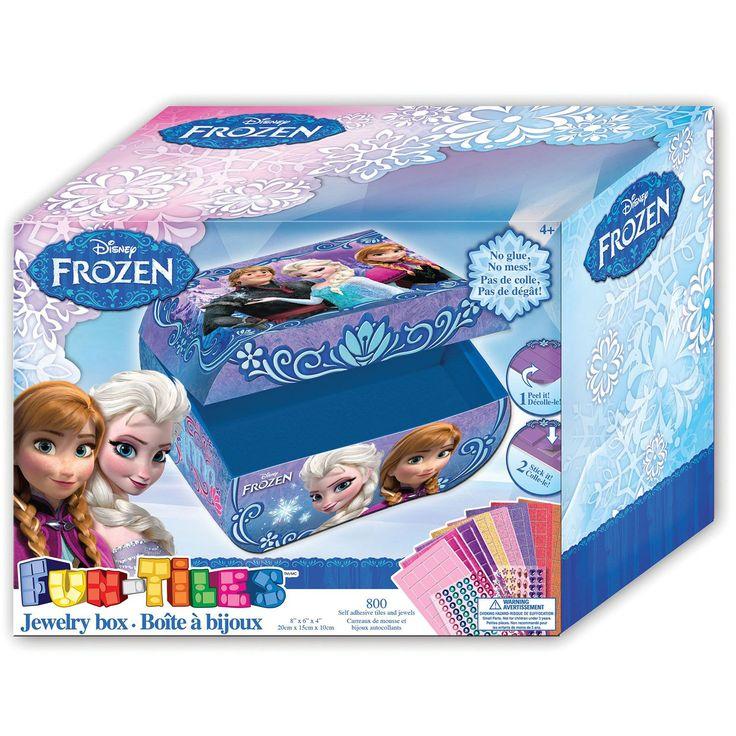 Disney Frozen Fun-Tiles Jewelry Box