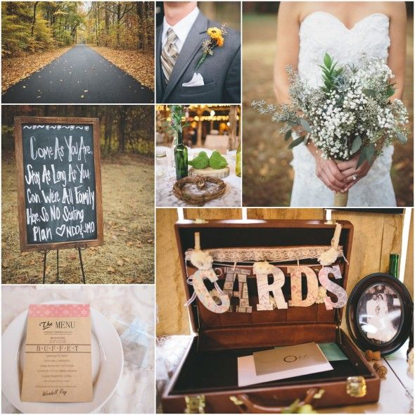 Southern Style Country Wedding