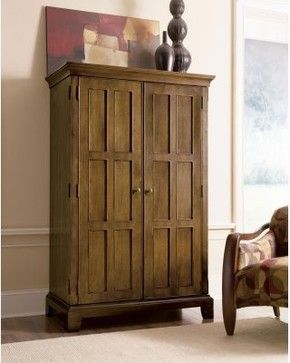 riverside woodlands oak computer armoire with optional chair canyon oak modern bookcases cabinets and computer