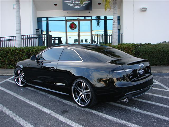 I'd love to drive this @ least once ... audi s5 with rims | Audi A5 / S5 with custom wheels [real life pictures only] - Page 5