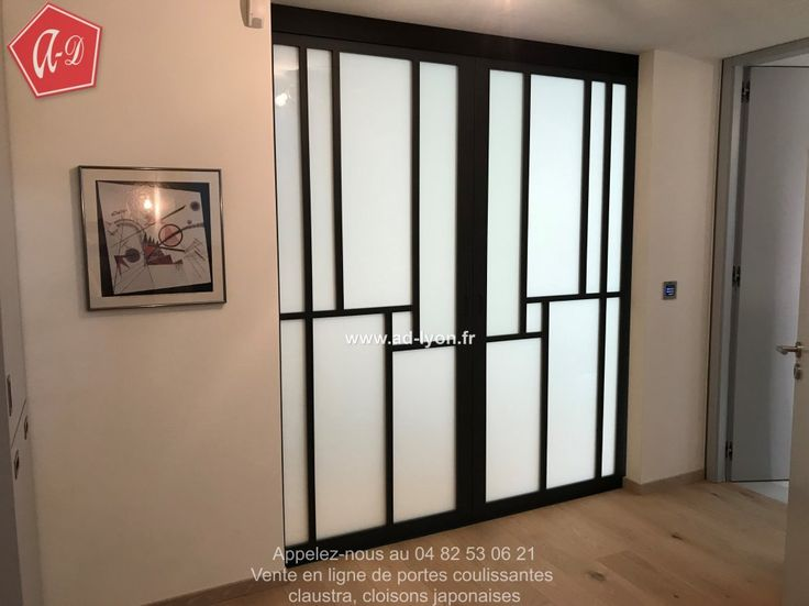 40 best PORTES COULISSANTE images on Pinterest Sliding doors - pose de porte de placard coulissante