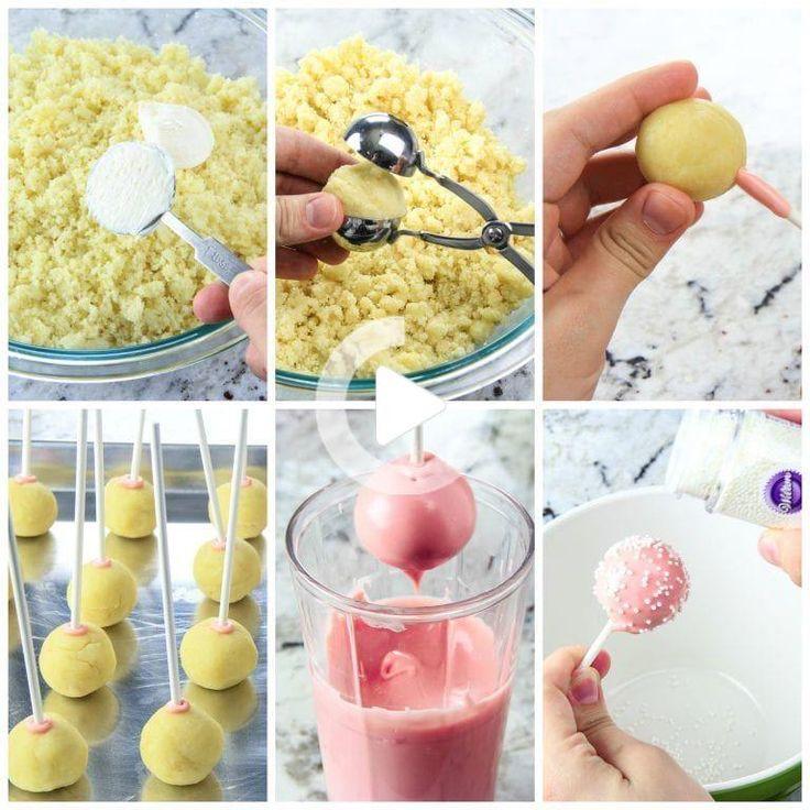 How to make cake pops starbucks copycat video simply