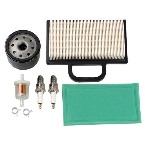 hipa air filter fuel filter oil filter spark plug for briggs & stratton  intek extended life series v-twin 18-26 hp lawn mower