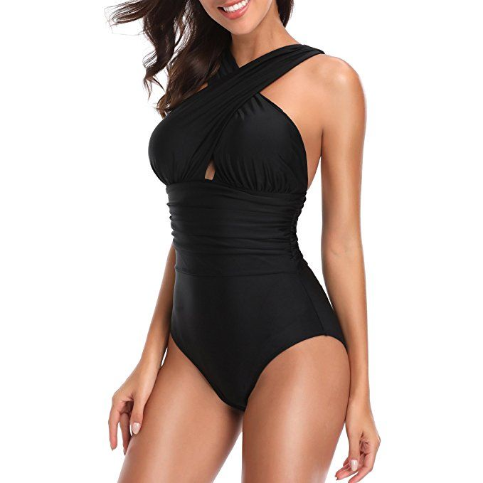 W You Di An One Piece Swimsuit Bathing Suit For Women Sexy Tummy