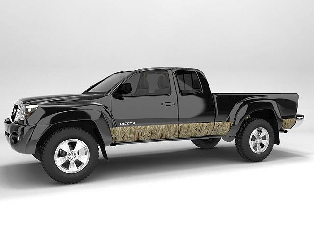#autocollant #sticker #camouflage #véhicule Bande décorative joncs mixtes / Mixed Reed decorative stripe for vehicle. $209.95