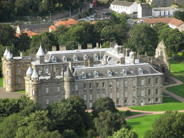 Palace of Holyroodhouse, the Queen's official residence in Scotland. The Palace is best known as the home of Mary, Queen of Scots – she was married here, and witnessed the brutal killing of her secretary in her private apartments. Edinburgh, Scotland