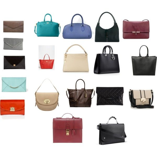 """""""Dramatic Classic Bags"""" by angstgirl on Polyvore"""