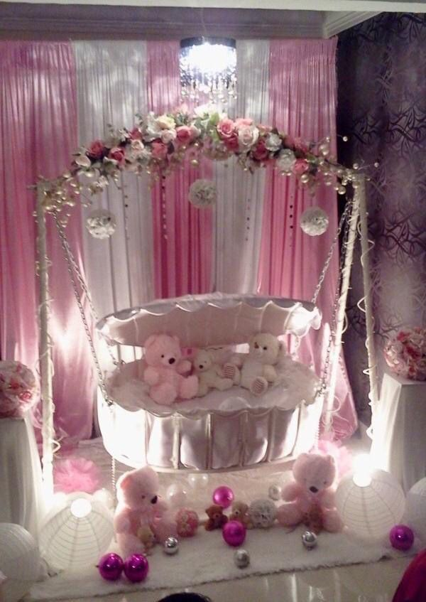 25 best images about swags on pinterest moroccan party for Baby name ceremony decoration