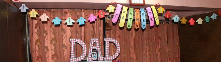 Father's Day Decoration!
