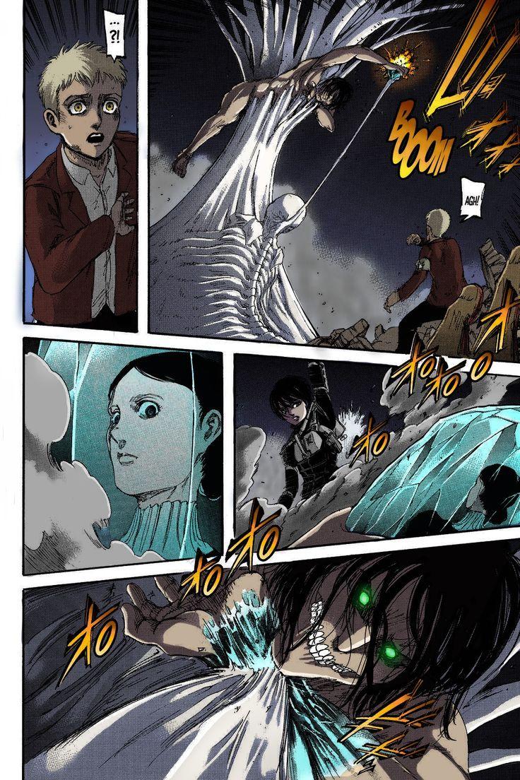 Shingeki No Kyojin Colored Chapter 103 in 2020 Shingeki