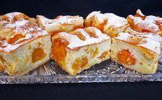Prăjitura cu iaurt și caise, un desert gustos și răcoros de vară