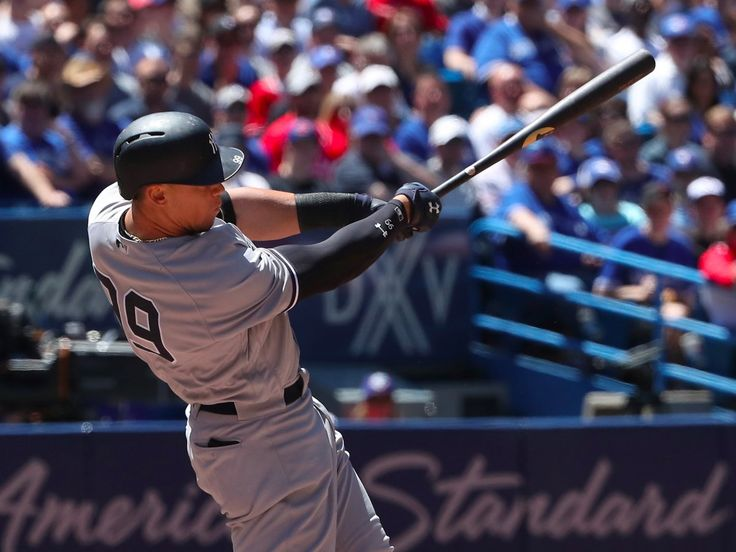 While Judge was quiet for most of the rest of 2016, he has been an absolute sensation so far in his first full year in the majors, leading the American League in batting average, home runs, and slugging percentage.