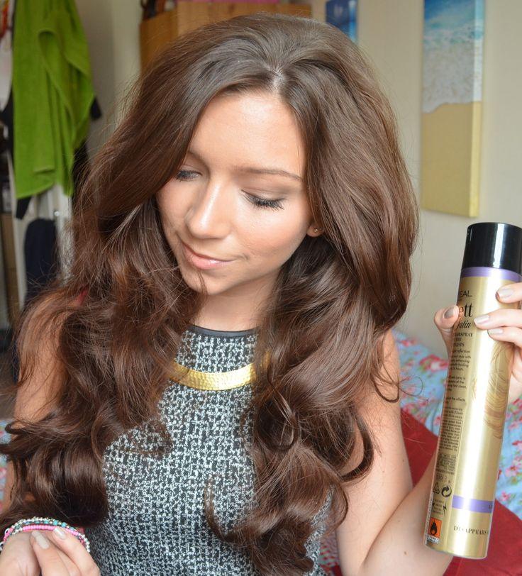 Big wavy hair tutorial - definitely getting some hot rollers!!!