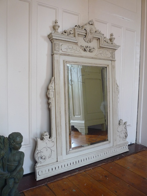 Painted Louis XV Style Mirror