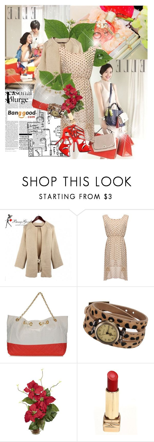 """""""A Mother's Gift <3"""" by advent68 ❤ liked on Polyvore featuring Nicki Minaj, Prada, Nearly Natural, Giuseppe Zanotti and vintage"""