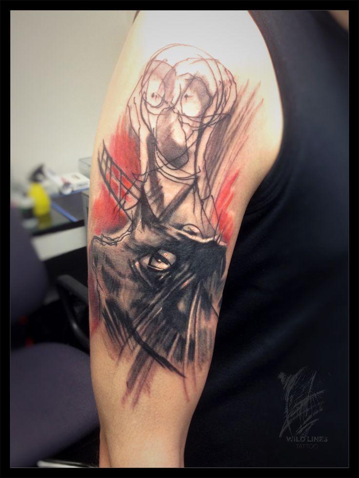 #wildlinestattoo #dodac #dodactattoo #abstracttattoo #colortattoo #inked #ink #linear #cheyennehawk #eternalink #pantheraink #tattrx #tatoogirl #czechtattoo #pilsen#divadlopodlampou