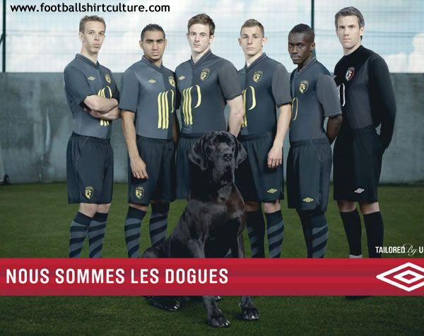 we are the dogs - Lille OSC 12/13 football shirt Umbro
