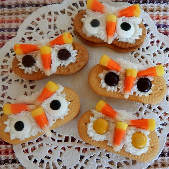 Easy Owl Diy Cookies
