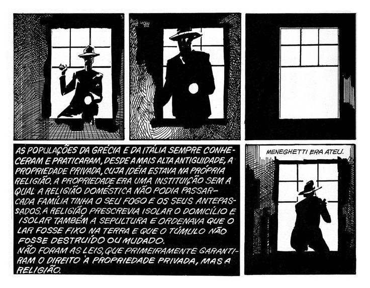 Essa é um trecho de uma história sobre um dos mais famosos personagens de São Paulo, o célebre ladrão anarquista, Gino Amleto Meneghetti, que galvanizou a cidade nos anos vinte. (no site de Luiz Gê, em construção, as história completas)