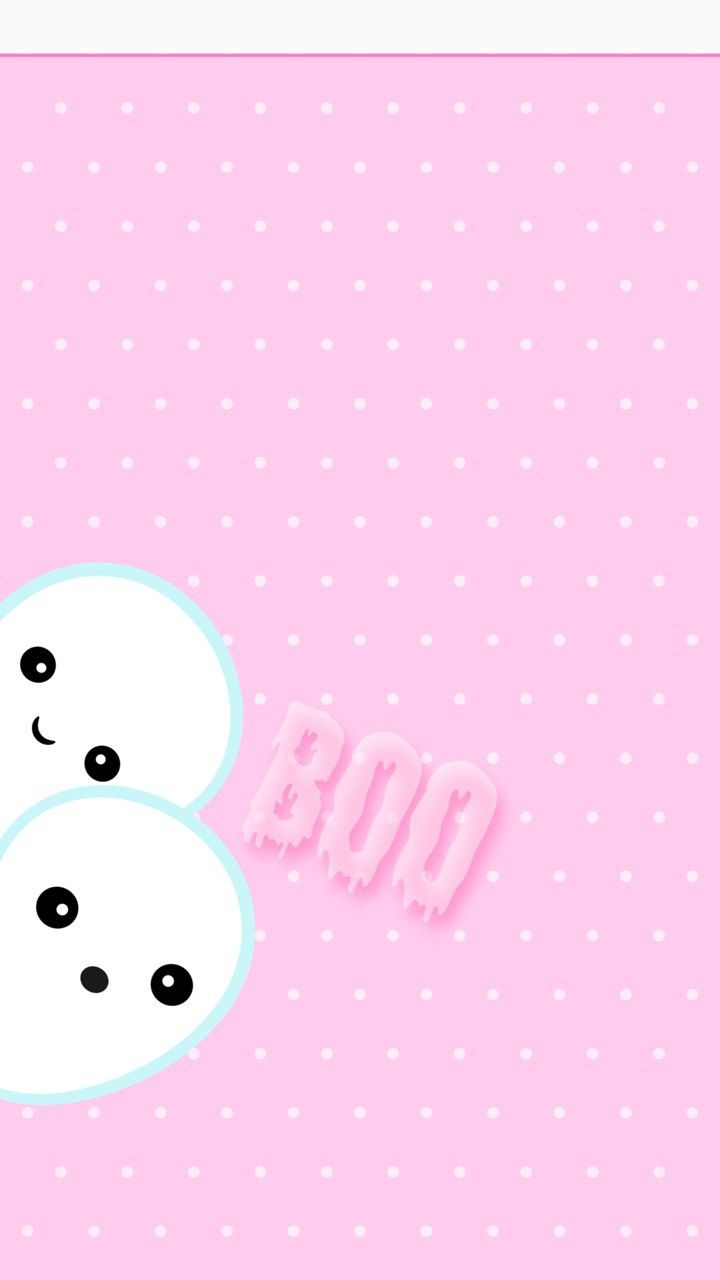 Image Shared By Glen Find Images And Videos About Cute Pink And Kawaii On We Heart It Halloween Wallpaper Iphone Pink Halloween Halloween Wallpaper