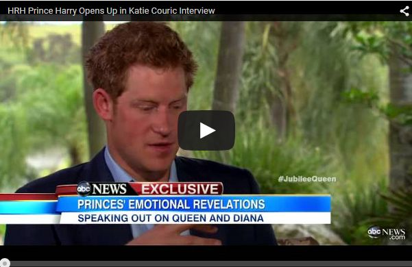 Prince Harry's Emotional Revelations Speaking Out On Queen and Princess Diana