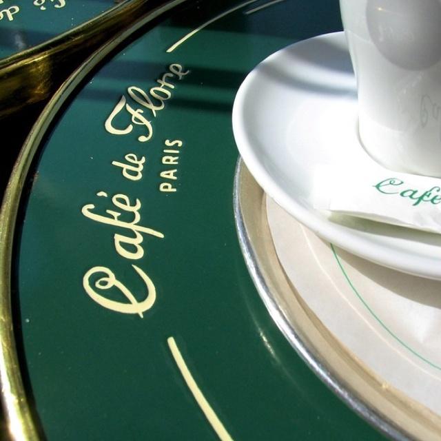 Cafe de Flore on blvd St. Germain
