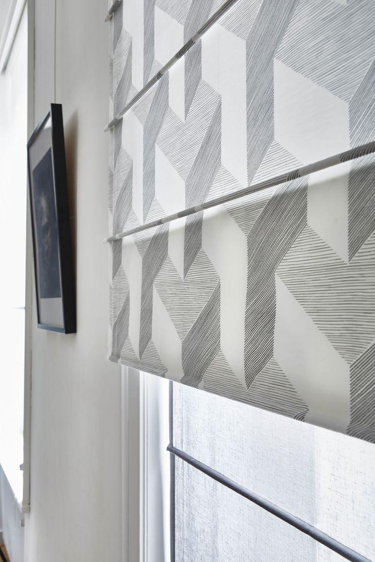 1000 id es sur le th me rideaux g om triques sur pinterest. Black Bedroom Furniture Sets. Home Design Ideas