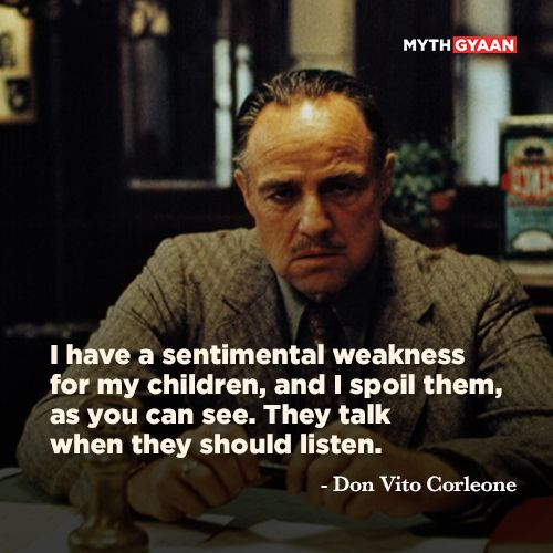 Godfather Quotes & Dialogues - Don Vito Corleone Quotes