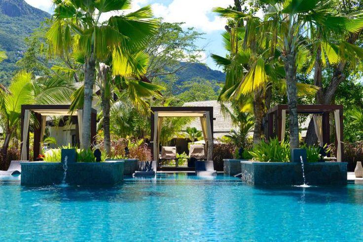 H Resort Beau Vallon Beach Hotel Seychellen Pool - 1