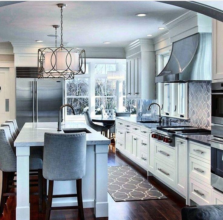 Inspire Me Home Decor Kitchen Tables Dream Kitchens Kitchen Islands