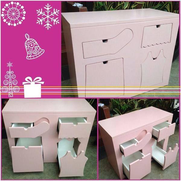 Kids drawer for baby girl bedroom