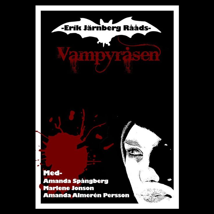 """Vampyråsen"" movie poster #erikjarnbergvideo"