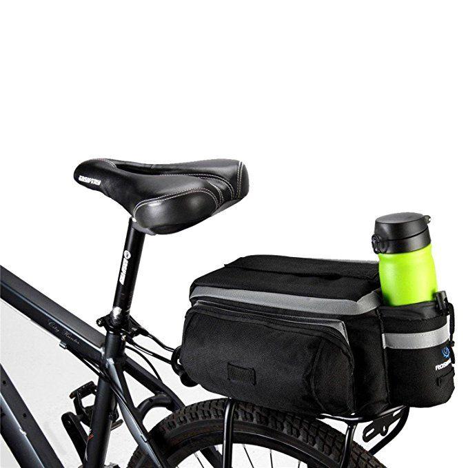 Traderplus Bike Pannier Bag Durable Waterproof Nylon With