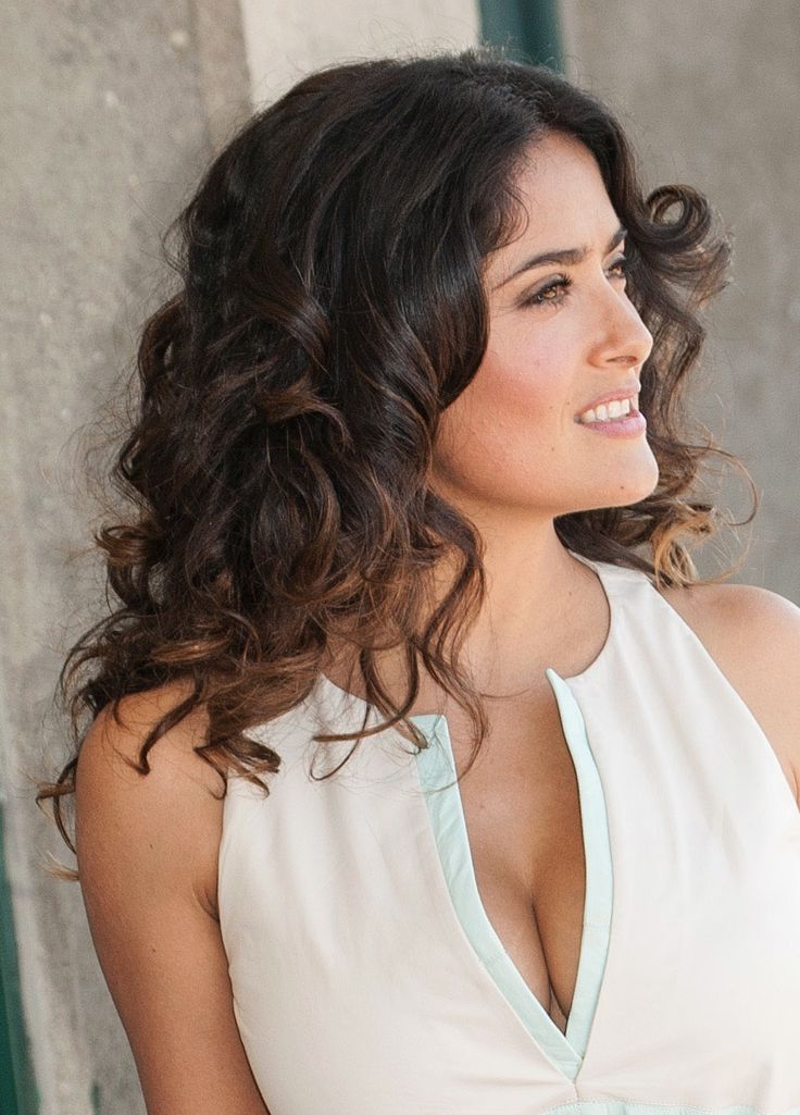 Salma Hayek Hair | Brown Hair Color: Year's 20 Hottest Hairstyles